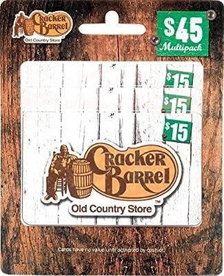Cracker Barrel Gift Cards, Multipack of 3