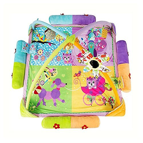 Play Rug – TOOGOO ( R ) Musical Play Rug Baby Toys Fitness活動で美しいクッション花スタイルラグ B01M74TDIB
