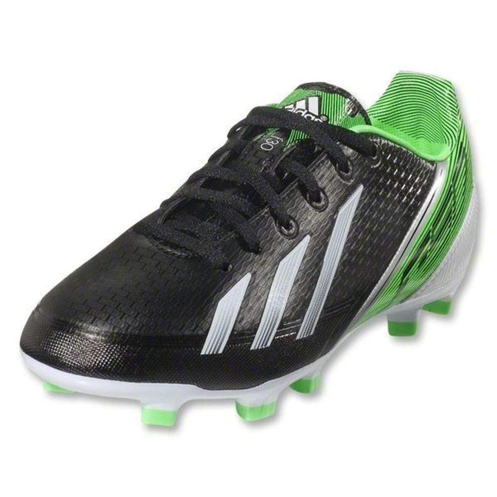 adidas Junior F30 Adizero TRX FG Soccer Cleats Black//White//Green