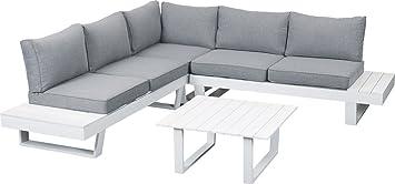 Primaster Lounge Aluminium, salon de jardin: Amazon.fr: Jardin