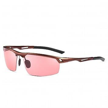 Pesca Gafas polarizadas Gafas de sol Hombres Pesca Gafas de sol polarizadas de magnesio de aluminio