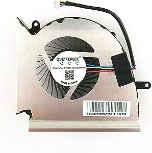 QUETTERLEE Replacement GPU Cooling Fan for MSI GE75 GP75 Series Fan PAAD06015SL N414 Fan