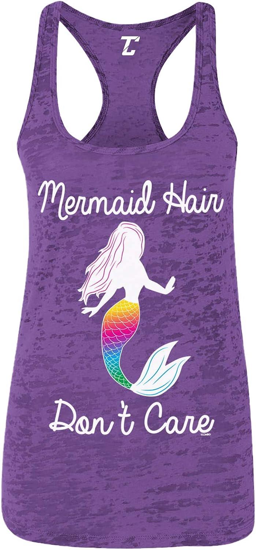 Mermaid Hair Don't Care - Magic Spirit Animal Women's Racerback Tank Top