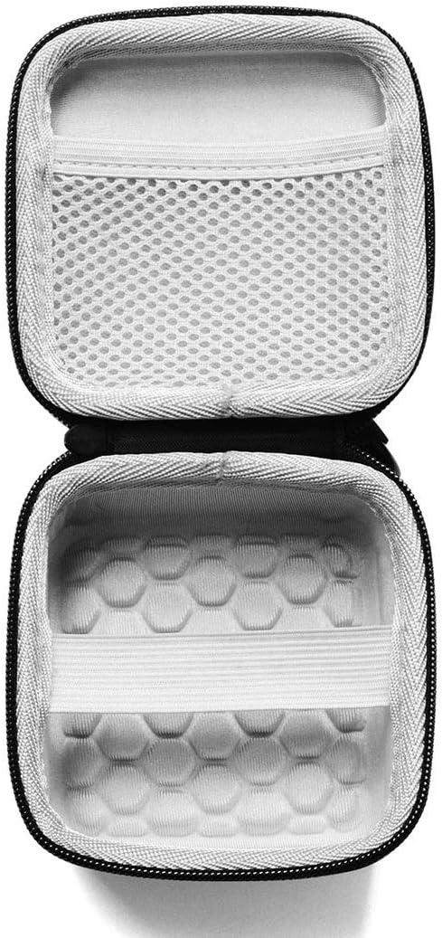 Black Color : Black Size: 10 x 10 x 6cm Premium Material XIAOMIN Thumb Anti-Shake Camera Charging Box Storage Bag for Insta360 GO