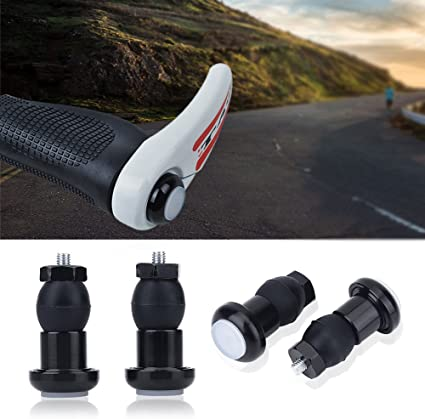 M:Part Carbon Road Bike Bicycle Handlebar End Bar Plugs Cap Pair Black