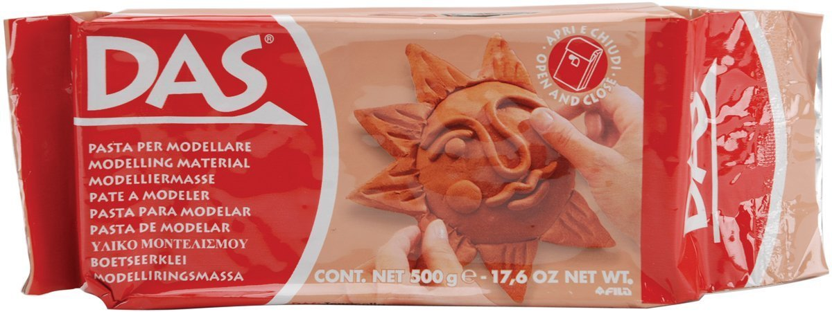 DAS 387600 Modelling Clay, 1kg, Terracotta