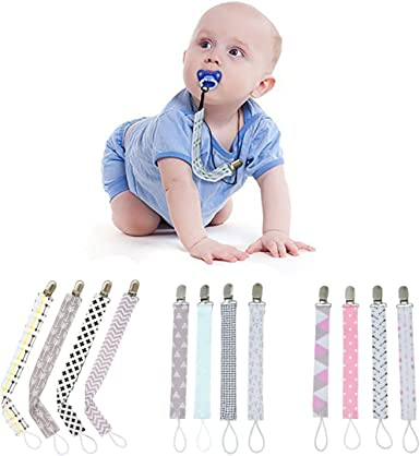 4 Pcs//Set Pacifier Chain Floral Print Teether Teething Nursing Care Baby Product