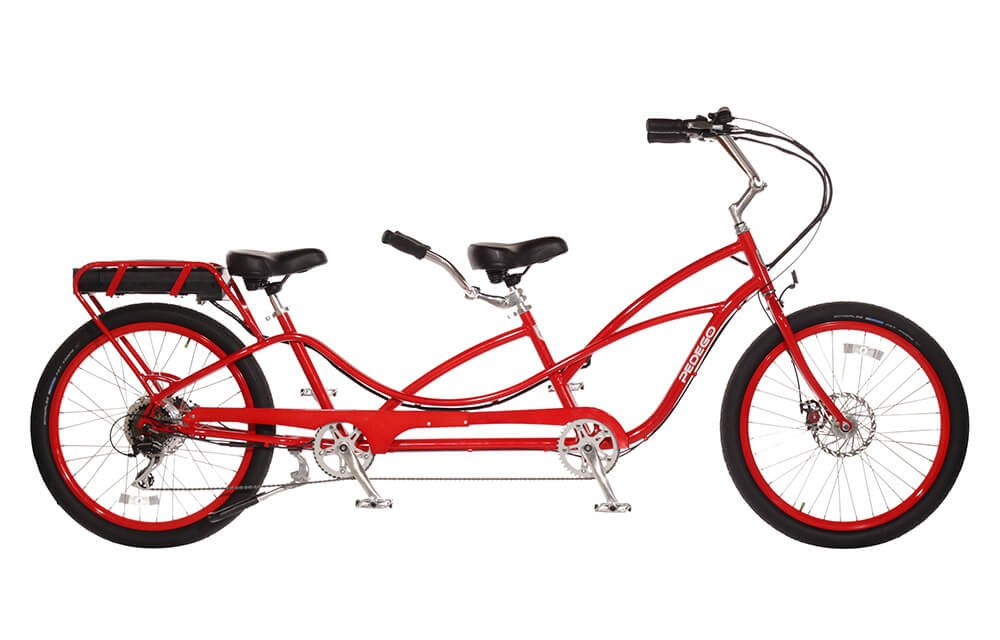 Pedego Tandem Red with Black Balloon Package 48V 15Ah by Pedego B01GXR7FXI