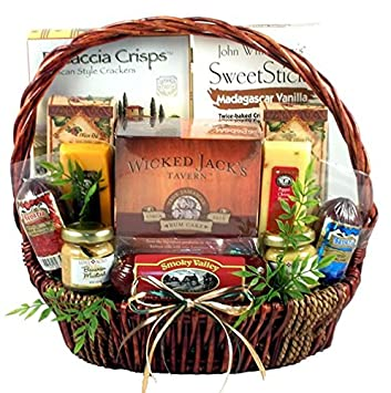 Amazon The Gourmet Gentleman Elegant Gift Basket For