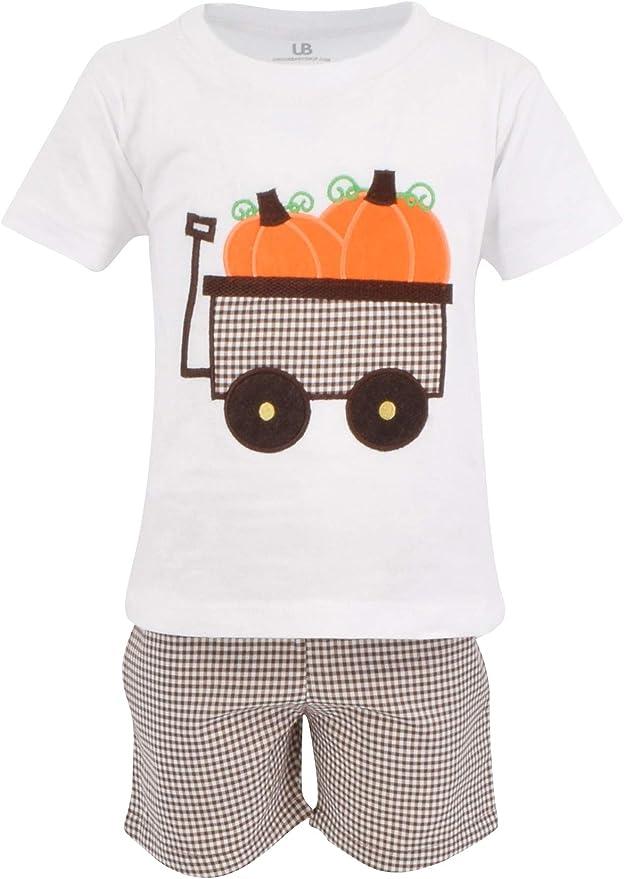 Fall Shirts For Toddler Baby Kid Boy Fall Pumpkin Patch Shirt Thanksgiving Fall Pumpkin Shirt for Boys Personalized Truck Pumpkin Outfit
