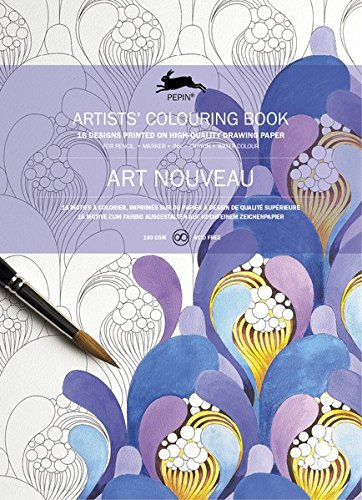 Art Nouveau ARTISTSCOLOURING Artists Colouring product image
