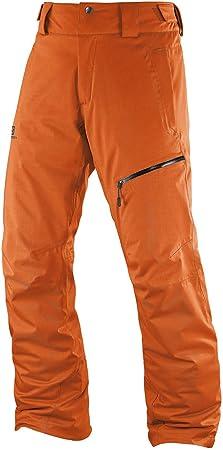 Salomon Herern Skihose Ski Hose EXPRESS PANT clemetine orange