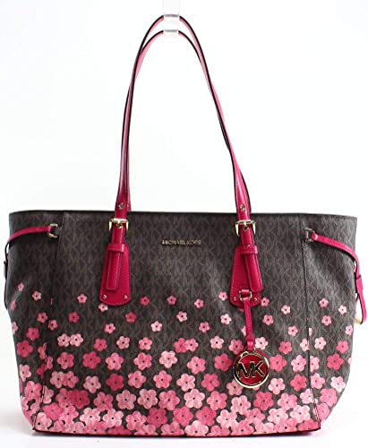b6a527cd1a48 Women's Accessories Michael Kors Voyager Flower Print Tote Bag Spring  Summer 2018: Amazon.co.uk: Shoes & Bags
