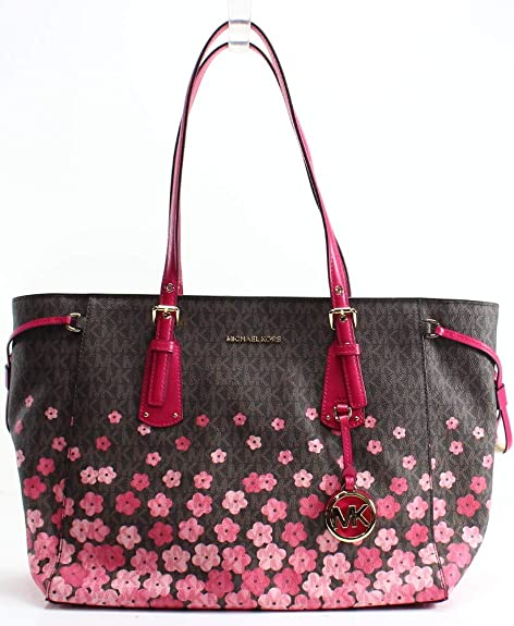 Shopping Estampado De Mujer Voyager Accesorios Michael Flores Bolso uTl5JF3K1c