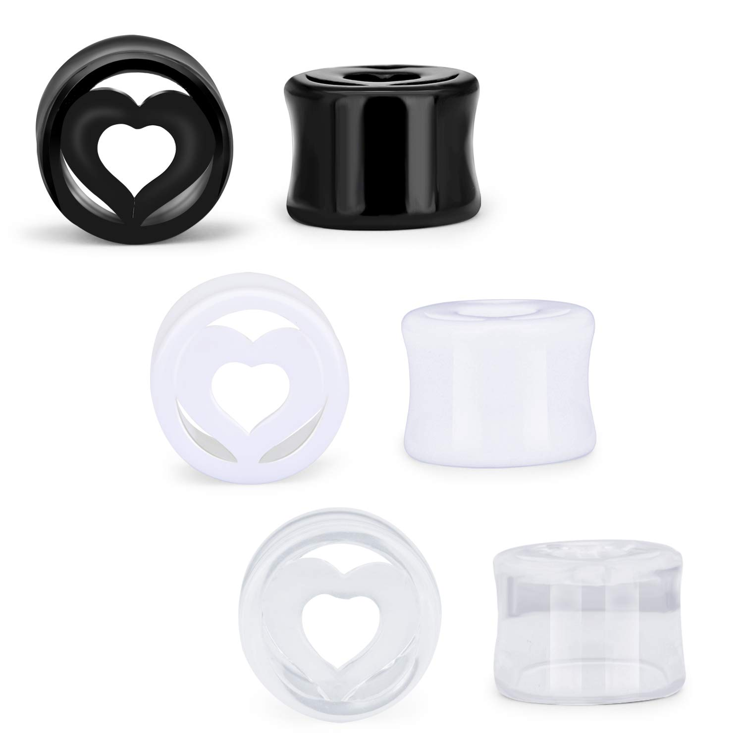 AVYRING Dilatacion Oreja 10mm 00G Ear Tunnel Plugs Expander ...