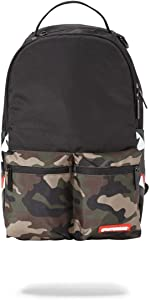 SPRAYGROUND BACKPACK CAMO SIDE SHARK DOUBLE CARGO