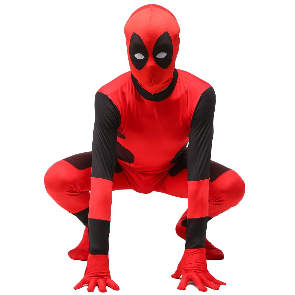 QQWE Traje de Cosplay de Deadpool, Disfraz de Disfraz de ...