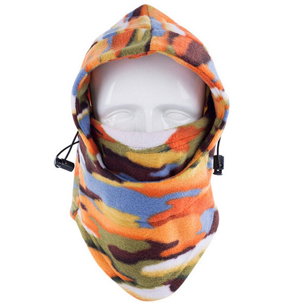 Mä nner und Frauen Skifahren Mü tze Fleece Baggy Beanie Stricken Schal Nackenwä rmer Unisex Gesichtsmaske Skifahren Mü tze Radfahren Wandern Maske Lonshell