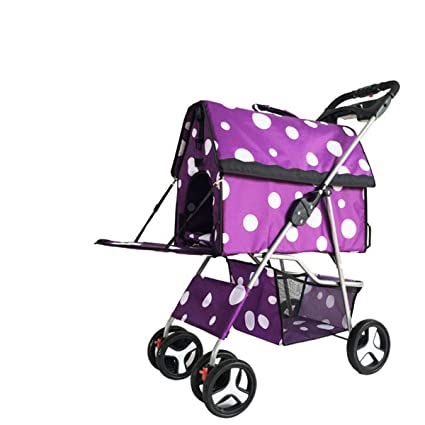 Amazon.com : Pet Trolley Cat Dog Carts Carrier Split Type Pet Pushchair Pet Stroller Dog Gram Multifunction for Small Dogs 10kg 4 Wheel (Color : Pink) : Pet ...