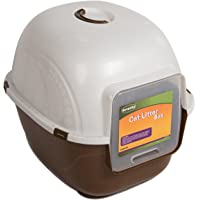 Favorite Portable Side Enter Covered Cat Litter Box