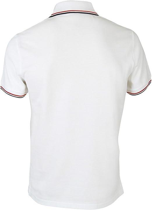 MONCLER - Polo - para Hombre Blanco Blanco Talla De La Marca Small ...
