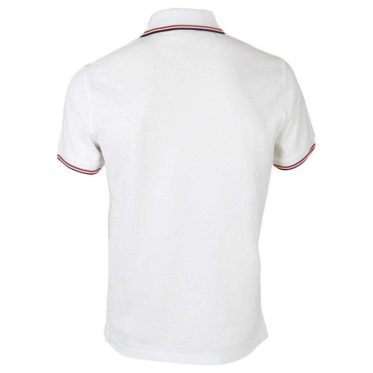 Moncler Herren 834560084556001 Weiss Baumwolle Poloshirt