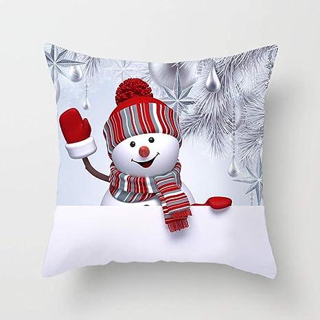 WeiLi Air & Tree D Merry Christmas Fundas de Almohada ...