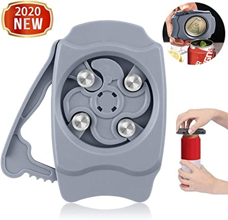 Go Swing Topless Can Opener Bar Tool Safety Easy Manual Can Opener ...
