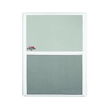 windows half screen marvin croft llc f31714 series 90 aluminum single hung window with half screen