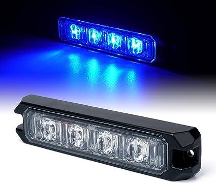 White Xprite Replacement 5 Front//Rear LED Module for Black Hawk Series Strobe Light
