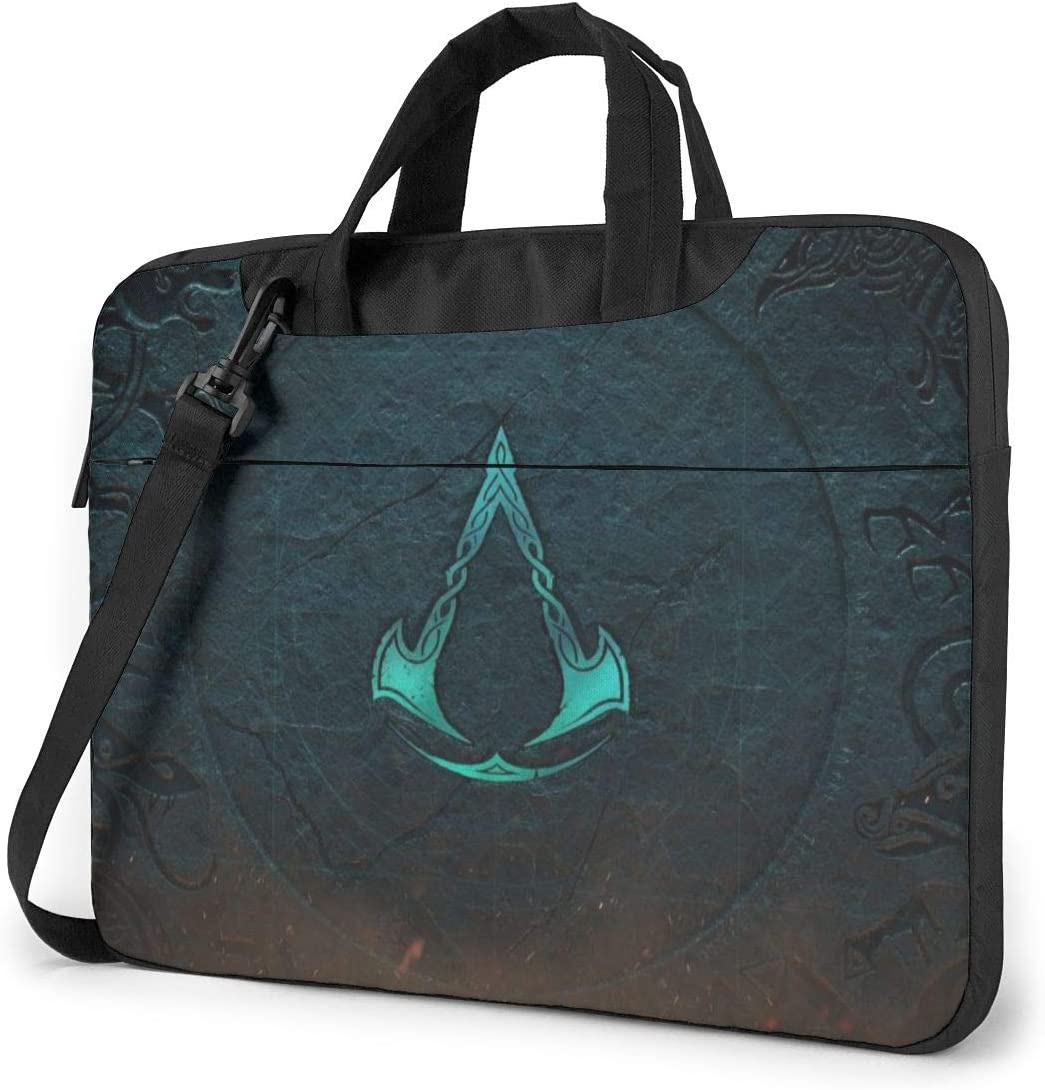Assassin's Creed Laptop Bags Laptop Protective Cases Hand held One Shoulder Shockproof Oxford Laptop Protective Case/Tablet PC Briefcase Compatible Bag