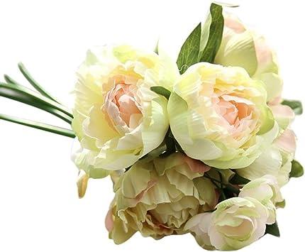 10PCS* Artificial wedding flower flower lotus bouquet Creative home decoration