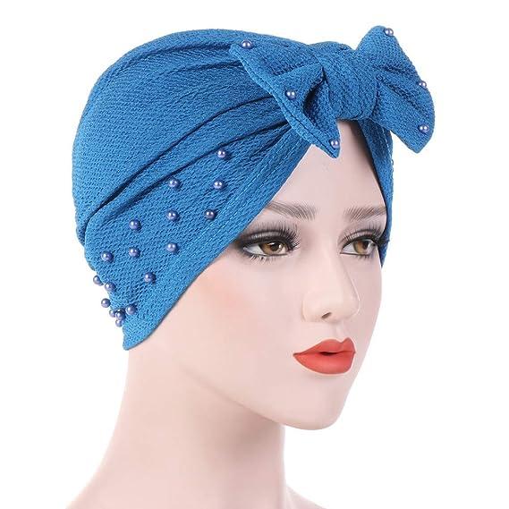 Desmontable Arco Sombreros y Gorras de Mujer Cancer Chemo Sombrero Beanie  Bufanda Wrap Cap Cabeza De Turbante para Càncer Quimioterapia Chemo  Oncológico ... 3a1cd30c008