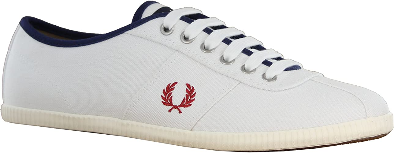 Fred Perry Hayes Canvas White Mens