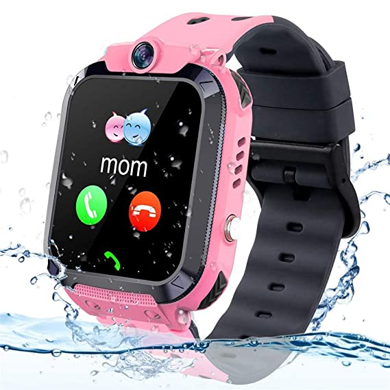 Niños GPS Reloj del perseguidor, IP68 a Prueba de Agua ...