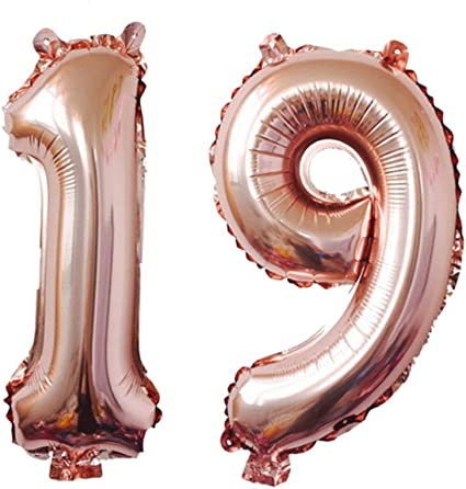 Rosegold Foil Balloon