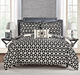 Chic Home 8 Piece Reversible Comforter Set