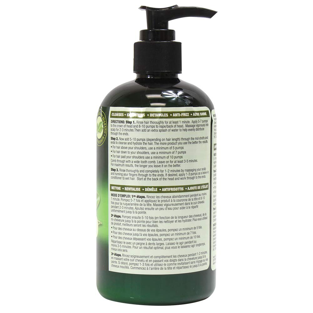Hair One Tea Tree Oil Cleansing Conditioner for Dry Scalp 12 ounce (6-Pack) by Hair One (Image #2)
