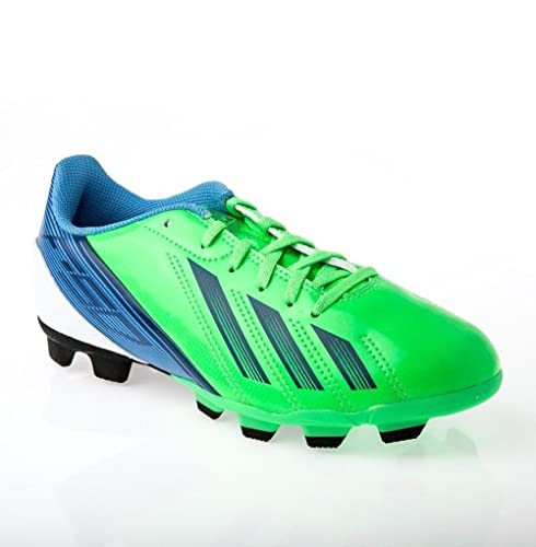 the best attitude 9d374 551ed adidas F5 TRX FG Junior Cleats (Green Blue) 6  Amazon.ca  Shoes   Handbags