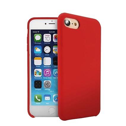 Amazon.com: iPhone 7/iPhone 8 Funda de silicona, funda de ...