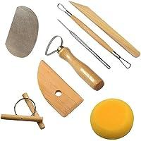 Herramientas de Escultura, 8 Piezas Cuchillo de arcilla