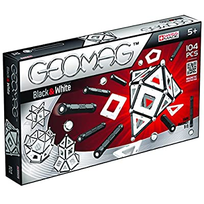 Geomag 013 Panels Black Amp White 104 Pcs 013