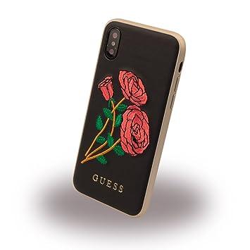 b8b2fd06d88 Guess Flower Desire - Funda para Apple iPhone X: Amazon.es: Electrónica