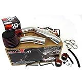 03-07 Honda Accord 3.0L V6 HPS Cold Air Intake Kit + K&N Filter Cool Long Ram CAI