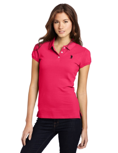 US Polo Assn. Juniors Solid Polo With Small Pony