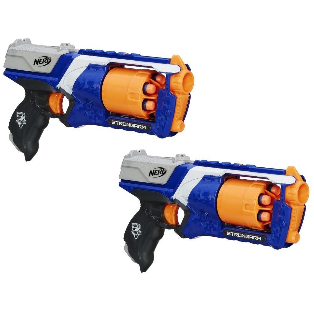 Custom Painted Nerf Elite Strongarm Blaster Gun by CustomsByDave ($25)