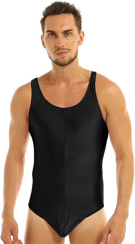 Men/'s Singlet Wrestling Leotard Fitness Gym One Piece Boxer Jumpsuit Bodysuits