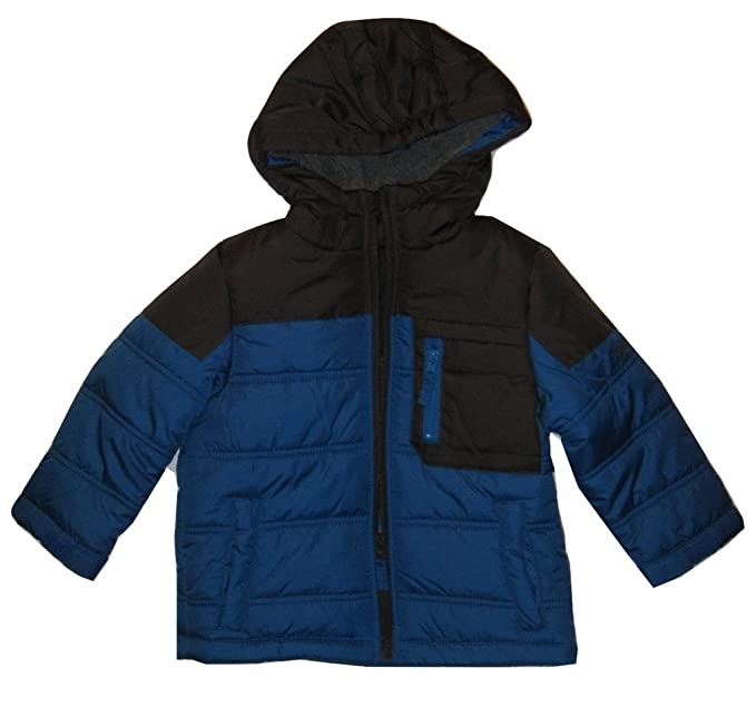 353518622 Amazon.com  OshKosh B Gosh Boy s Colorblock Heavyweight Jacket S ...