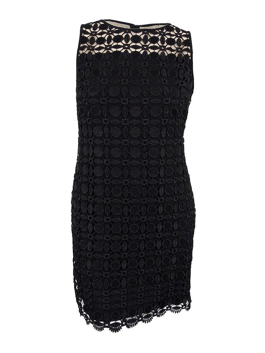 6db69468 Lauren Ralph Lauren Geometric Lace Cocktail Dress
