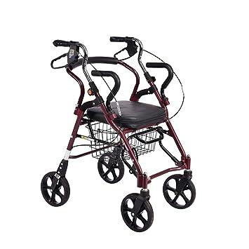 LOO LA Deambulador Andador para Ancianos Andador Caminador ...